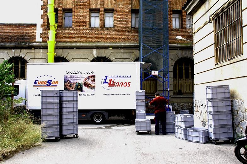 transportes llanos transporte de mercancias barcelona almacenaje